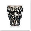 Lalique Bacchantes Small Vase, Bronze