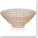 Lalique Ombelles Bowl, Gold Luster