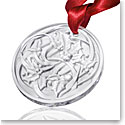 Lalique Annual 2017 Ornament Entrelacs, Clear