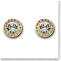 Swarovski Gold and Crystal Angelic Pierced Earrings