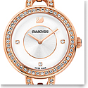 Swarovski Aila Stainless Steel and Rose Gold Watch