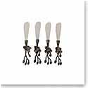 Michael Aram Black Orchid Spreader, Set of 4