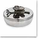 Michael Aram Black Orchid Round Trinket Box