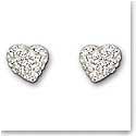 Swarovski Alana Heart Pierced Earrings