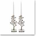 Michael Aram Botanical Leaf Candle Holder Pair