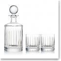 Trump Home By Rogaska Glenview Decanter and 2 DOF Glasses Set