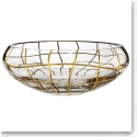 "Rogaska Magic Night Gold 12 1/2"" Centerpiece"