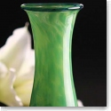Cashs Art Glass Forty Shades of Green, Medium Vase