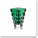 "Rogaska Adria Green 10"" Vase"
