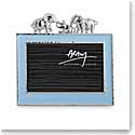 "Michael Aram Elephant 4x6"" Photo Frame, Blue"