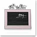 "Michael Aram Elephant 4x6"" Photo Frame, Pink"