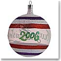 Waterford HH North Pole 2006 Annual Ball - Ltd. Edition Dated Ornament