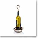 Michael Aram Rope Wine Coaster and Stopper Set