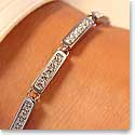 Swarovski Rhodium And Crystal Everyday Bracelet