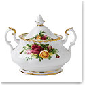 Royal Albert China Old Country Roses Covered Sugar Bowl