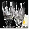 Waterford Lismore Diamond Iced Beverage, Pair