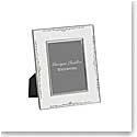 "Monique Lhuillier Waterford Modern Love 8x10"" Silver Picture Frame"