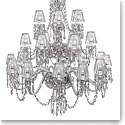Waterford Chandelier Collection - Ardmore 24 Arm With Crystal Shades