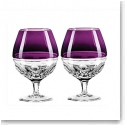 Waterford Contemporary Elysian Amethyst Special Edition Brandy Glass, Pair