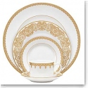 Waterford China Lismore Lace Gold, 5 Piece Place Setting