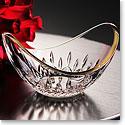 "Waterford Lismore Essence 6"" Golden Ellipse Bowl"