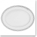 Monique Lhuillier Waterford China Embrace Medium Oval Platter