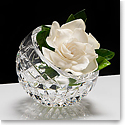"Waterford Fleurology Cleo 8"" Clear Angled Rose Bowl"