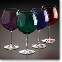 Marquis By Waterford Vintage Jewels Colored Aromatic Wine, Set of Four