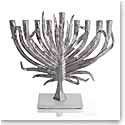 Michael Aram Palm Menorah, Nickelplate