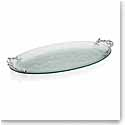 Michael Aram Ocean Coral Glass Platter, Large