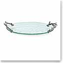 Michael Aram Ocean Coral Glass Platter, Small