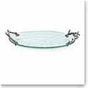 Michael Aram Ocean Coral Glass Platter, Small