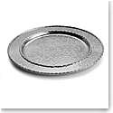 Michael Aram Hammertone Charger Platter, Nickelplate