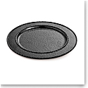 Michael Aram Hammertone Charger Platter, Black Nickelplate