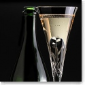 Cashs Happy Shamrocks Wedding Flutes, Pair