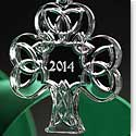 Cashs Celtic Shamrock Ornament 2014