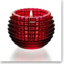 Baccarat Eye Votive, Red