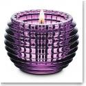 Baccarat Eye Votive, Amethyst