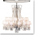 Baccarat Zenithal 24 Light Lampshade White Set of Six