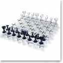 Baccarat Chess Set, Clear and Midnight Limited Numbered Edition
