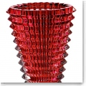 Baccarat Eye Large Vase, Red