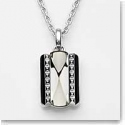 Baccarat Louxor Necklace, Silver and Mist Mirror