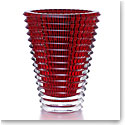 Baccarat Eye Extra Large Vase, Red
