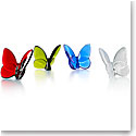Baccarat Lucky Butterfly, Set of 4