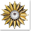 Baccarat Heritage Georges Chevalier Golden Sun Clock, Limited Edition