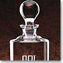 "Crystal Blanc Uptown Decanter 10 1/2"" 34 oz"
