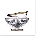 "Rogaska Amphora Bowl 10"" Gold"