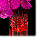 "Waterford Fleurology Tina 9"" Red Bud Vase"