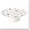 Royal Albert China New Country Roses Tea Party Large Cake Stand, Pink Roses