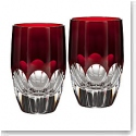 Waterford Mixology Talon Red Shot Glass Pair